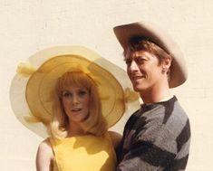 Catherine Deneuve et Grover Dale sur le tournage des Demoiselle de Rochefort (Jacques Demy) en 1966