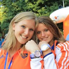 Dutch Olympians counting down to this weeks olympic opening ceremony!