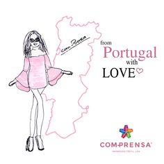 From Portugal with Love ❤️   #comprensa #fashion #draw #design #manufacturer #photooftheday #model #dress #love