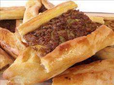 ΤΟΥΡΚΙΚΕΣ ΣΥΝΤΑΓΕΣ (21) Turkish Recipes, Ethnic Recipes, The Kitchen Food Network, Pastry Art, Baking And Pastry, Iftar, Yams, Cheesesteak, Hot Dog Buns