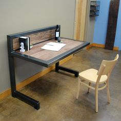 Kraftig Desk. $800.00, via Etsy.