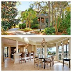 Use Promo Code PERFECTSUMMER to receive 10% off summer rentals! Enjoy the tranquil sounds of the marsh and breathtaking views from this beautiful 5 bedroom, 4 full and 2 half bath marsh view home nestled along Bass Creek in the exclusive Vanderhorst Plantation. With luxurious designer furnishings throughout, this popular home boasts spectacular marsh views from the main living areas and three of the bedrooms! http://www.beachwalker.com/booking/10-falcon-point/1650-67526