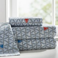 Shark Tooth Sheet Set