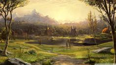 Albion from Fable III | 36 Beautiful Landscapes That Prove That Video Games Are Art