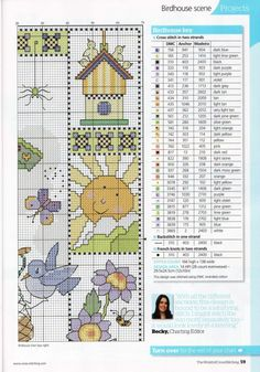 Gallery.ru / Photo # 37 - The world of cross stitching 153 + application 120 Charts - tymannost