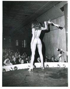 Vintage striptease porn pics