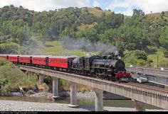 RailPictures.Net Photo: Ab 608 Steam Incorporated Steam 4-6-2 at Near Masterton, New Zealand by John Russell