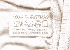 100% christmas...read the tag and follow...