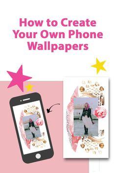5 Tips to create your own customized inspiring phone wallpapers that will keep you motivated. #Wallpapers #PhoneWallpaper Online Graphic Design, Graphic Design Programs, Graphic Design Tips, Wallpaper Background Design, Wallpaper S, Wallpaper Backgrounds, Create Your Own Wallpaper, Find Quotes, Instagram Story Template