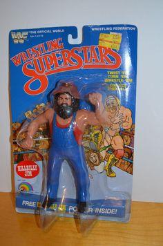 WWF LJN Wrestling Superstars Hulk Hogan Action Figure 1984 for sale online Wwf Superstars, Wrestling Superstars, Weird Toys, Cool Toys, 1980s Childhood, Childhood Memories, Wwf Toys, Wrestling Posters, 1980s Kids