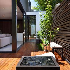 Melbourne Home Water Feature Design Ideas, Pictures, Remodel, and Decor