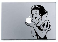 snow white macbook decal macbook stickers covers ipad by saraexp, $6.32