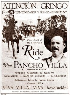 WWI Centennial: Pancho Villa's Troops Murder 18 Americans Pancho Villa, Chicano, Disney World Wedding, Mexican Revolution, Memoir Writing, Mexican Heritage, South Of The Border, Mexican Party, Le Far West