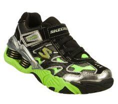 Women's Skechers Mega Flex: Pistonz - Green Black