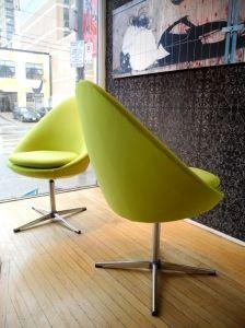 Swedish swivel chairs