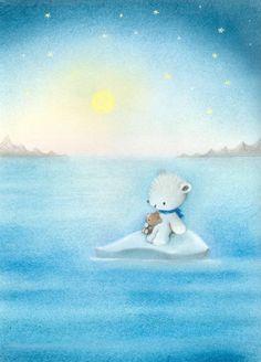Dubravka Kolanovic - new20.JPG  Polar Bear on an Ice Flow