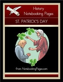 Free History Notebooking Pages: St. Patrick's Day