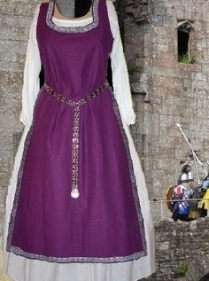 Medieval SCA Garb Renaissance Costume Purple by CamelotsClosets, $83.00