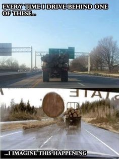 So true.....I think Final Destination and move into another lane as fast as I can