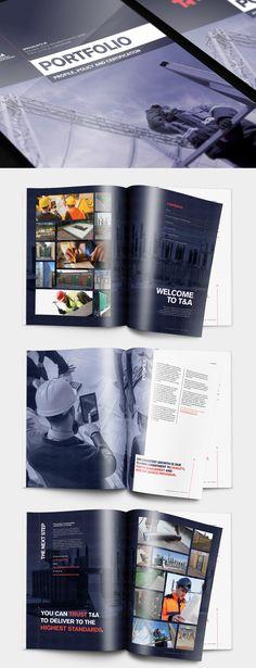 T&A Maintenance Portfolio Brochure – by James Kontargyris