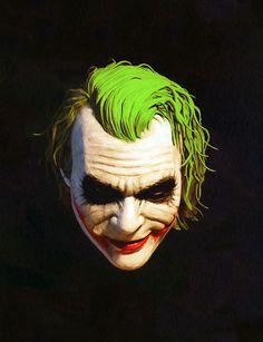 The Joker O Joker, Joker Art, Joker And Harley Quinn, Comic Books Art, Comic Art, Dc Comics, Kings & Queens, Jokers Wild, Heath Ledger Joker