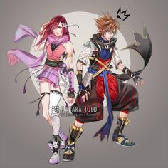 KH remixd again. tackling the classic kingdom hearts series as a whole, part part of a redo/redone series I made where I create an alternate cover fo. Kairi Kingdom Hearts, Kingdom Hearts Games, Kingdom Hearts Fanart, Final Fantasy Characters, Final Fantasy Art, Sora And Kairi, Sora Kh, Character Art, Character Design