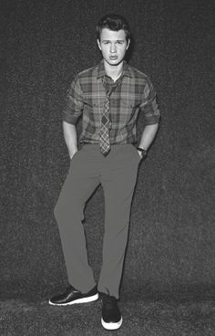 Ansel Elgort is featured in the Manhattan publication 'Scene' ~Divergent~ ~Insurgent~ ~Allegiant~