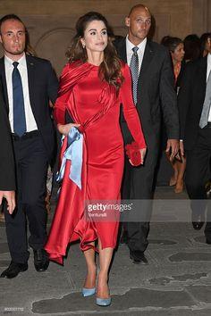 Fotografia de notícias : Queen Rania of Jordan attends the Celebrity Fight...
