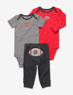 Carter's® 3-pc. Tough Guy Bodysuit Set – Baby 0-18 Mos. Stage Stores  ((Big Bro would like this;)...))