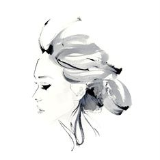 Christian David Moore International Fashion Beauty Illustrator London