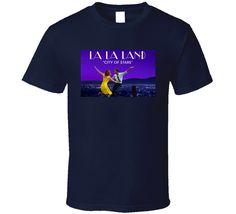 La la land Movie T Shirt Movie T Shirts, Mens Tops, Movies, Cotton, Stuff To Buy, Fashion, Moda, Films, Fashion Styles