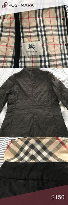 Women's Burberry jacket In excellent used condition. Priced to sell so don't miss this opportunity. Burberry Jackets & Coats