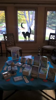 Author U Autumn Tea 2016 (c) - Milford-Haven Novels with halloween cat