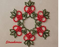 This pattern is a reminds me of my mother. She used to grow floribunda roses--multiple small blooms on a single stem. She also looked great in orange! You can make this floral piece or snowflake with or without beads. It includes instructions for working with beads. The pattern is a visual diagram with written instructions for the unusual, but simple techniques. Skill level--Intermediate. Skills needed: Rings, chains, picots, joins. All other techniques are taught in step-by-step…