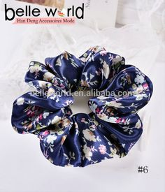Much Style Floral Sweetly Fabric Chiffon Wave Rope Tie Scrunchie Ponytail Holder - Buy Floral Retro Fabric Chiffon Wave Ponytail Holder,Floral Sweetly Fabric Chiffon Elastic Scrunchie,Wave Rope Tie Scrunchie Ponytail Holder Product on Alibaba.com