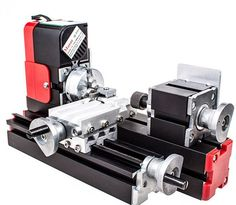 DIY Machine Working Lathe Metal Woodworking Machine 20000rev/min 45*135mm Eleoption 6in1 Miniature Metal Multifunction