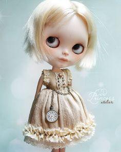 Blythe Silk Dress TIME FOR RECOLLECTIONS By Odd by oddprincess