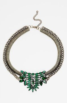 Now that's a statement necklace!x