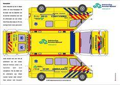 bouwplaat ambulance volkswagen sprinter