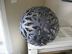 DIY light - love it! via afewthingsthatcoughtmyeye