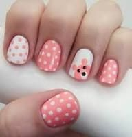Here is the 15 Easy and Simple Nail Designs for Beginners To Do At Home. Learn Easy Nail Art Designs with this Given Step by Step Tutorial Pictures. Nail Art 2014, Dot Nail Art, Polka Dot Nails, Polka Dots, Pink Nails, Girls Nails, Bright Nails, Yellow Nails, White Nails