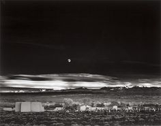 Moonrise- Hernandez, New Mexico (1941)Photo: Ansel Adams
