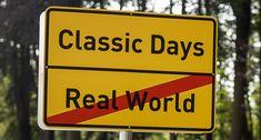 Totaler Realitätsverlust bei den Classic Days Schloss Dyck 2016