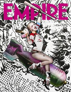 Empire August 2016 - Suicide Squad subscriber cover - Harley Quinn