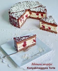 Bibimoni Receptjei: Konyakmeggyes Torta
