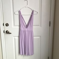 Tobi Dress A NWT lilac Tobi dress. It's very strappy and really cute. Super flattering and extremely comfortable. A perfect spring/summer dress. Tobi Dresses Mini
