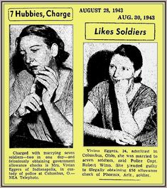 We all know that there are those who play by the rules and those who never play by the rules. One has to wonder how many of these people got away with this scam, but it is a doozie. Women who married GIs deployed over seas in World War II got to collect their …