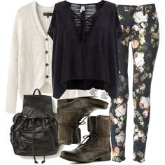 """Malia Inspired Fall Outfit"" by veterization on Polyvore"