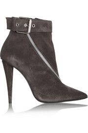 Giuseppe ZanottiEster buckled suede ankle boots