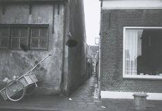 Tussen Langenoordstraat 55 en 57 ligt de Brouwerijgang
